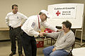 FEMA - 40027 - Red Cross shelter manager and a resident in Kentucky.jpg