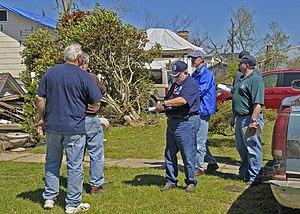 FEMA - 40808 - PDA team in Arkansas