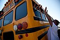 FEMA - 45056 - School Bus with children leaves Rocky Boy's Indian Reservation in Montana.jpg