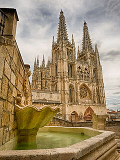Burgos Cathedral cathedral in Castile, Spain