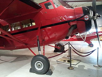 Fairchild 100 - Pilgrim 100-A (NC709Y) at Alaska Aviation Heritage Museum