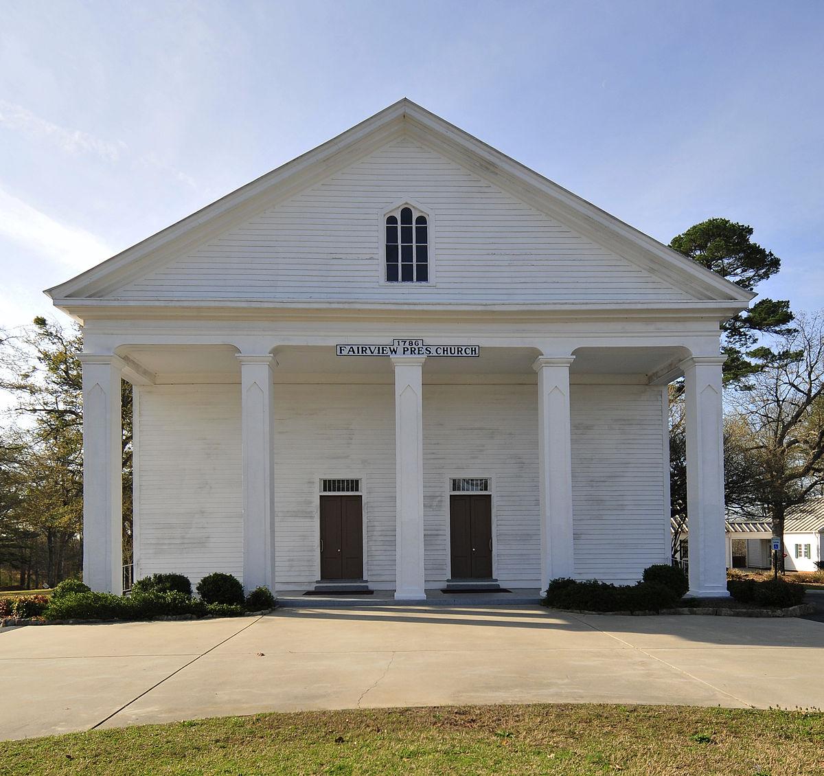 Fairview Presbyterian Church Fountain Inn South Carolina