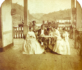 Family and slave house servants by Klumb 1860.png