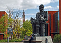 Faraday Monument, Chamberlain Memorial Clock Tower 2011.jpg