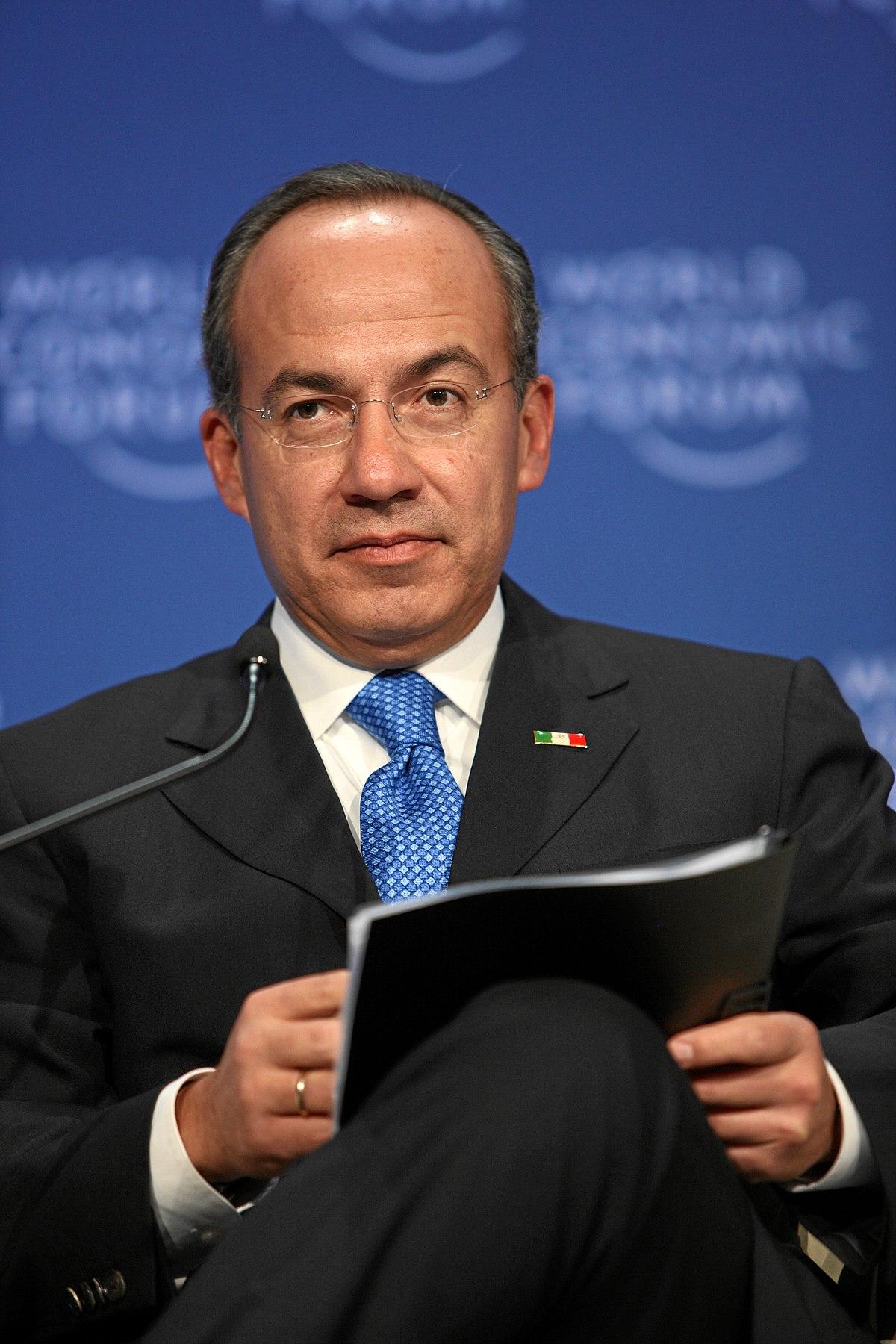 Felipe Calderón - Wikipedia Felipe Calderon