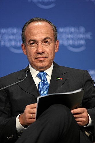 Felipe Calderón - Image: Felipe Calderon 20090130