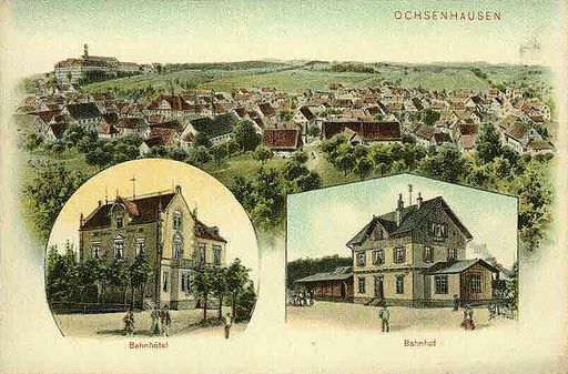 Felle Ochsenhausen Bahnhof