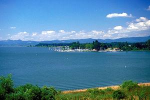 Fern Ridge Reservoir - Image: Fern Ridge Lake Oregon