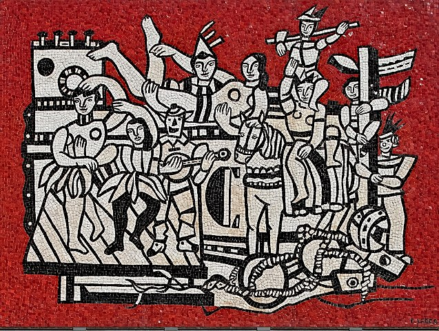 Большой парад. Мозаика, 1953—1958Национальная галерея Виктории, Мельбурн, Австралия