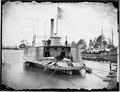 Ferry boat altered to Gunboat, Pamunkey river, Va., 1864-65 - NARA - 524831.tif