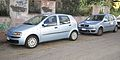 Fiat Punto 188 seres pre and post facelift.JPG