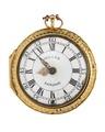 Fickur med boett av guld och urtavla i emalj, 1762 - Hallwylska museet - 110427.tif