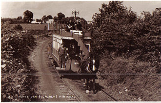 Great Northern Railway (Ireland) - The Fintona horse tram circa 1930