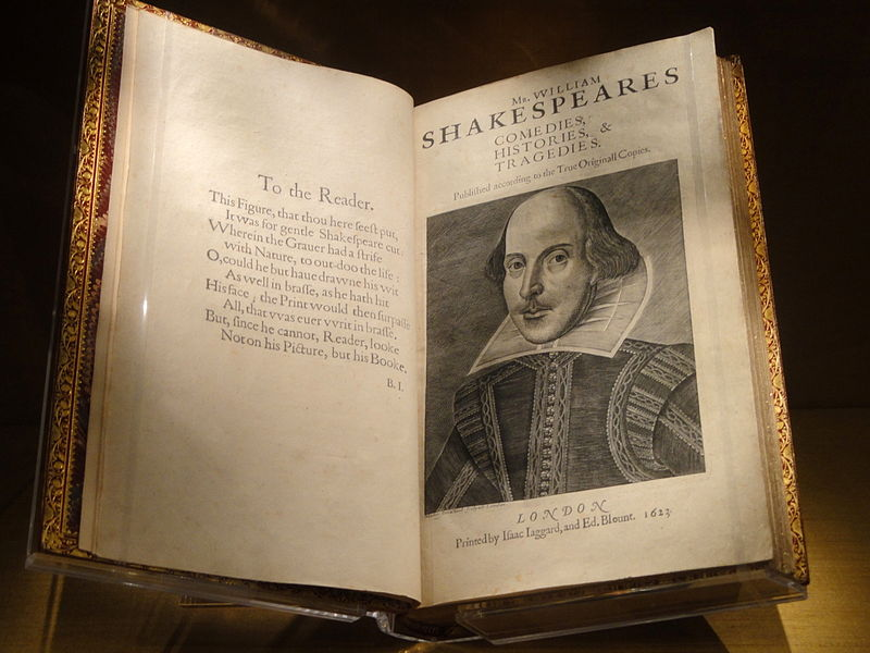 Shakepeare's First Folio