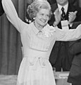 First Lady Betty Ford celebrates winning the nomination at the Republican National Convention, Kansas City, Missouri.jpg