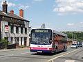 First Manchester bus 60313 (M518 PNA), 1 July 2008.jpg