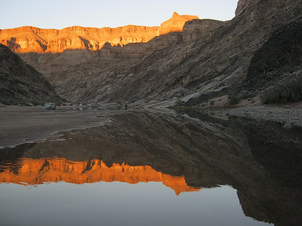 Fish River Canyon - Towards Wild Fig Bend