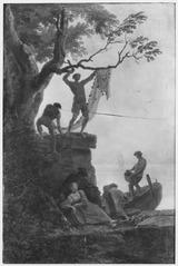 Fishermen at the Shore