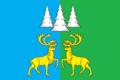 Flag of Kommunistichesky (Khanty-Mansia).png