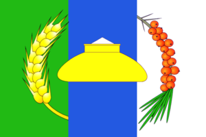 Novosibirsky District - Image: Flag of Novosibirsk rayon (Novosibirsk oblast)
