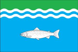 Onezhsky District - Image: Flag of Onezhsky rayon (Arkhangelsk oblast)