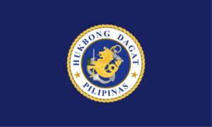 Ramon A. Alcaraz - Image: Flag of the Philippine Navy