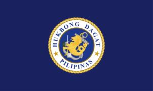 Nicanor Faeldon - Image: Flag of the Philippine Navy