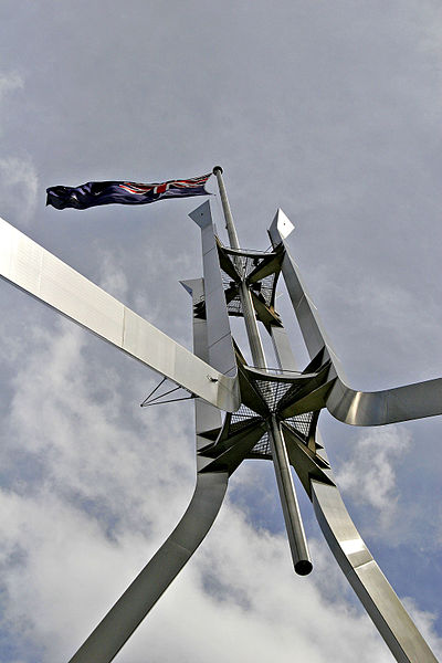 File:Flagpole ontop of parliament house02.jpg