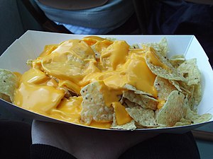 Nachos as served on a Circle Line Sightseeing ...