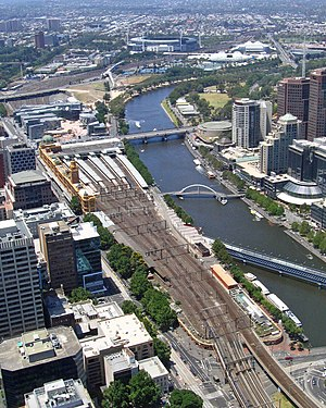 VicTrack - Western approach to Flinders Street station