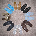 Flip flops arranged in a circle.jpg