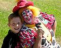 Flo the Clown and Friend El Dorado County Fair.JPG