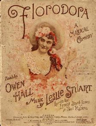 "Leslie Stuart - Sheet music for ""Florodora"", 1899"