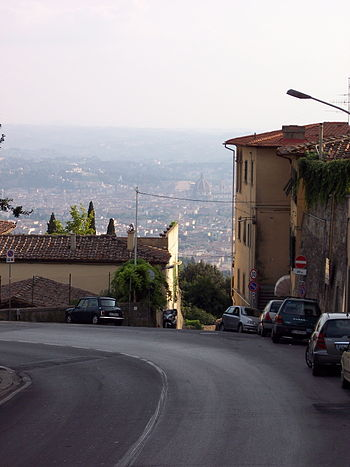 Florence as seen from Fiesole.