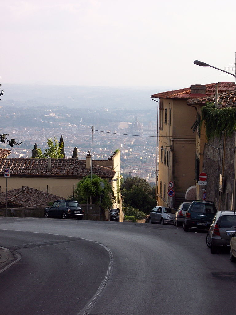 File florence from fiesole tuscany wikipedia for Is florence in tuscany