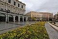 Flower beds outside the Teatro Real de Madrid (6394615563).jpg
