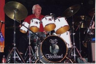 W. S. Holland American drummer