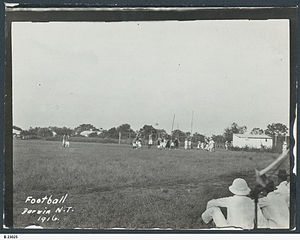 Australian rules football in the Northern Territory - Football in Darwin, 1916