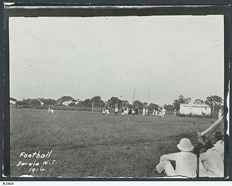 Australian rules football in the Northern Territory - Football in Darwin, 1916