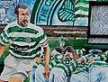 Football mural, Belfast (3) - geograph.org.uk - 1713042.jpg