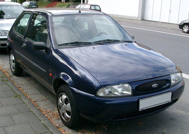 El Ford Fiesta se despide hoy de Almusafes (Valencia) 800px-Ford_Fiesta_MK4_front_20070926