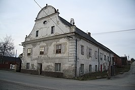 Former nobility brewery and Cultural monument in Čechtín, Třebíč District.jpg