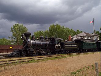 The Assassination of Jesse James by the Coward Robert Ford - This working engine and train at Fort Edmonton Park was featured in the film.