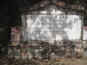 Faizabad - Fort Calcutta