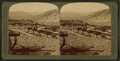 Fort Yellowstone, among the mountains, headquarters of U.S. Troops guarding Yellowstone Park, U.S.A, by Underwood & Underwood 4.png