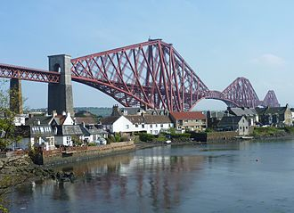 North Queensferry - Forth Bridge, North Queensferry