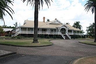University of Queensland Gatton Campus - Foundation building, 2009