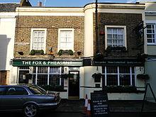Fox and pheasant wikipedia for The pheasant pub london