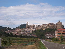 Panoramic view of Frías, 2007