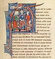 Français 123, fol. 129, Gautier Map, Aliénor d'Aquitaine, Henri II Plantagenêt.jpg